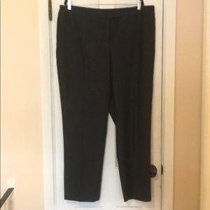 AnneKlein charcoal grey trousers 18W NEW